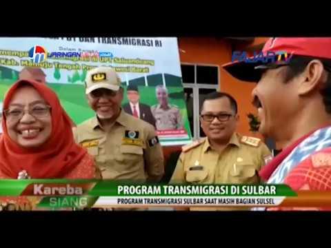 Program Transmigrasi Di Sulbar, Wagub Sulbar Terima 70 Kk Transmigran TPA