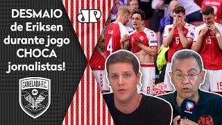 """Era uma certeza de morte do Eriksen"": Mal súbito de atleta da Dinamarca impressiona"