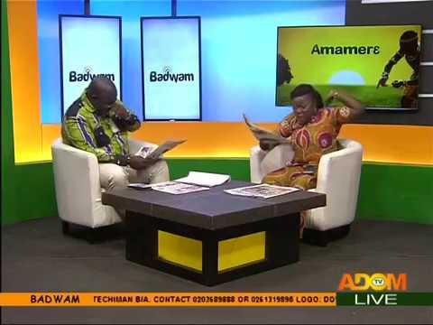 Badwam Newspaper Review on Adom TV (22-8-17)