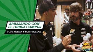 Tomi Misser y Santi Millan arrasan comprando en el Orbea Campus BCN