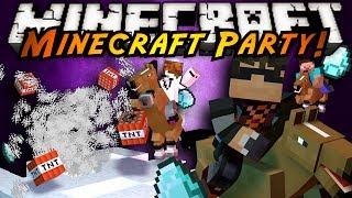 Minecraft Mini-Game : MINECRAFT PARTY!