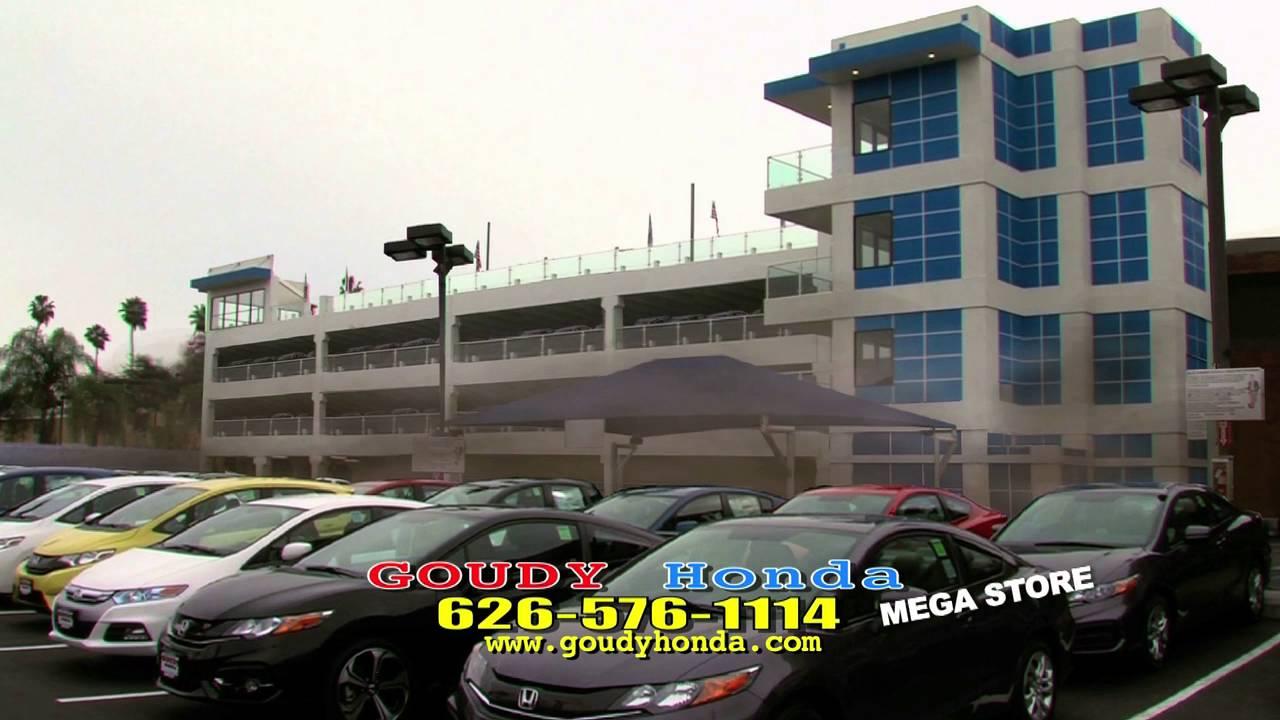 Goudy Honda building drop