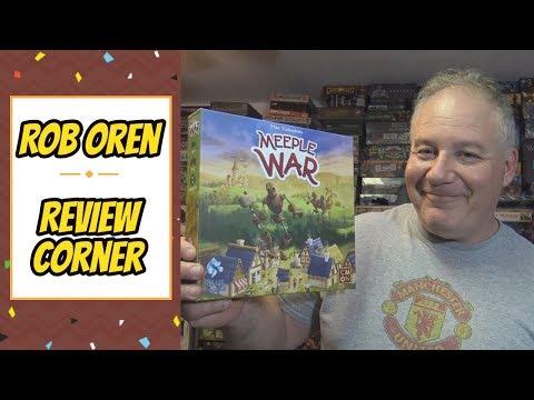 Rob's Review Corner - Meeple War
