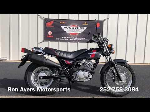 2018 Suzuki VanVan 200 in Greenville, North Carolina - Video 1