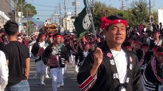 平成30年 八田荘だんじり祭 大池パレード