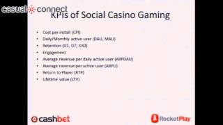 Monetization And KPIs Of Real Money Gaming And Social Casino Gaming | CULLEN, REAVES