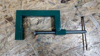 Homemade C clamp || DIY