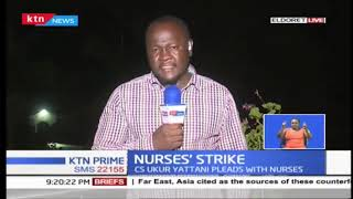 Health services in 13 counties paralyzed following the nurses strike