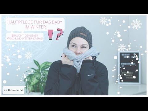 Hautpflege für das Baby im Winter I Wind und Wetter Creme I Babypflege