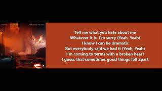 Good Things Fall Apart - ILLENIUM feat. Jon Bellion (Lyrics)