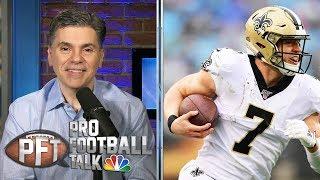 Saints' Taysom Hill views himself as 'franchise QB' | Pro Football Talk | NBC Sports