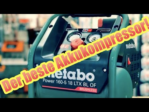 Metabo Akku Kompressor Power 160-5 18 LTX BL OF