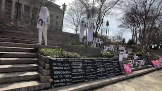 Gays Against Guns and artist/activist Robin Bell collaborate in D.C. action naming gun violence vict