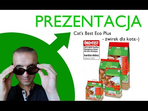 Prezentacja - żwirek dla kota - Cat's Best Eco Plus