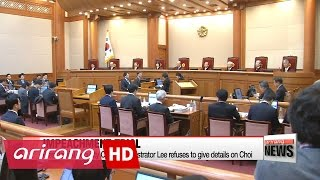 Constitutional Court holds fourth hearing in impeachment trial