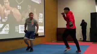 Открытая тренировка турнира MMA TITAN FC 51