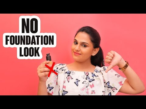 Perfect Makeup Without Foundation | Tutorial