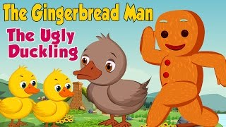 The Ugly Duckling & The Gingerbread Man Fairy Tales   Full Movie   Best Fairy Tale Collections  