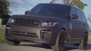 Matte Black Range Rover With Urban Automotive Upgrades