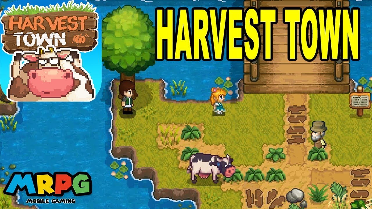 Harvest Town - Stardew Valley Clone - Android Gameplay