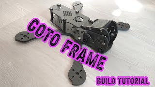 My Current GOTO Freestyle Fpv Frame and localy made. (Build Tutorial)