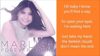 Marlisa - Forever Young - Lyrics