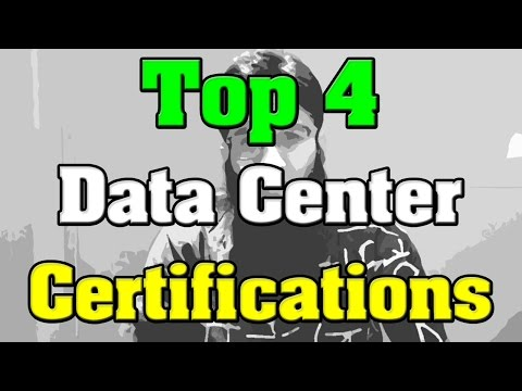 Top 4 Data Center Certifications - YouTube