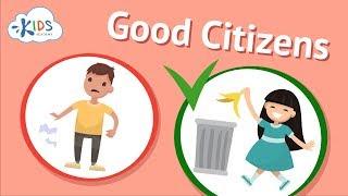 Good Citizenship & Social Skills for Kids | Being a Good Citizen | Kids Academy