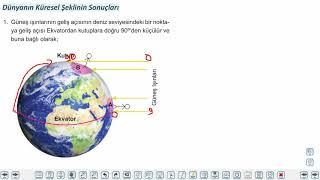 Eğitim Vadisi TYT Coğrafya 2.Föy Dünya'nın Şekli ve Hareketleri 1 (Dünya'nın Şekli ve Sonuçları) Konu Anlatım Videoları