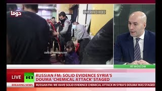 Solid evidence Douma 'chemical attack' was staged – Lavrov - Video Youtube