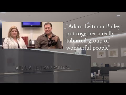 """""""Adam Leitman Bailey put together a really talented group of wonderful people"""" – B.W. and J.B. testimonial video thumbnail"""