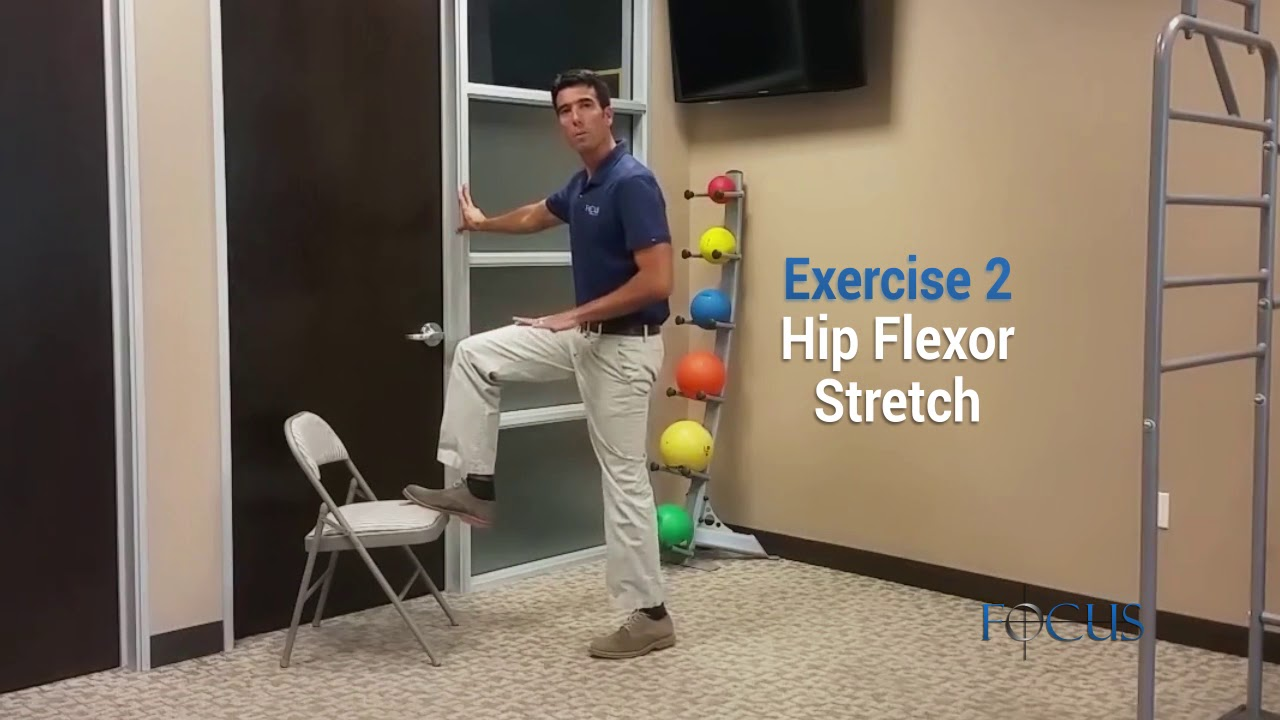 Top 3 Exercises for Lower Back Pain (Stenosis)