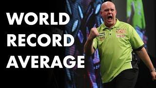 World Record Average! Michael van Gerwen averages 123.4! INCREDIBLE!