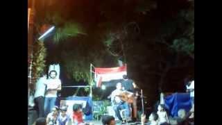 تحميل اغاني وجيه عزيز - و أغنية و هيلا هيلا ... اعتصام وزارة الثقافة بالزمالك - 18-6-2013 MP3