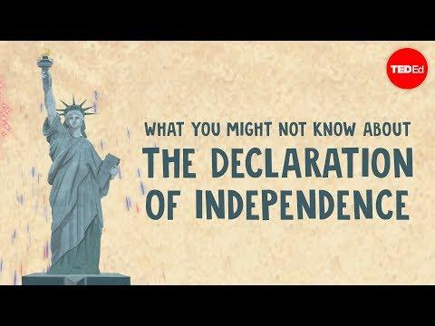 Факты о Декларации независимости, о которых вы, возможно, не знаете — Кеннет Дэв...