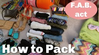 Vacation Packing Routine | How to NEVER Forget What You Need on Vacation Again