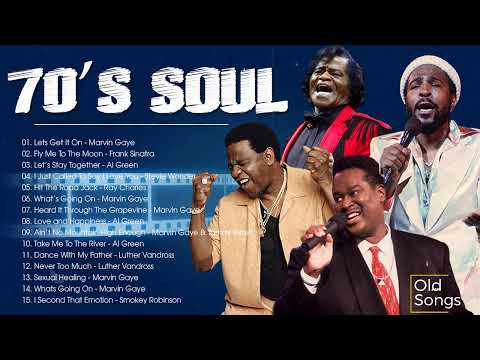 The 100 Greatest Soul Songs of the 70s -  Marvin Gaye, Al Green,Luther Vandross,Frank Sinatra & More