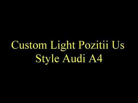 Pozitii Us Style Audi A4 - Turn signal light Audi
