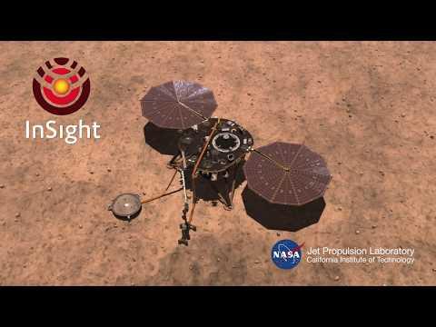InSight på väg mot sitt uppdrag på Mars