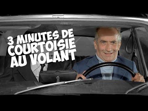 3 minutes de courtoisie au volant avec Louis de Funès !