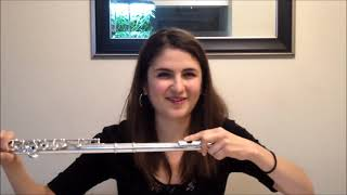 How To Make High Notes On The Flute Sound EASY