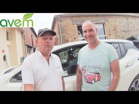 LES UTILISATEURS TEMOIGNENT – Laurent recharge sa Nissan Leaf avec ses panneaux photovoltaïques