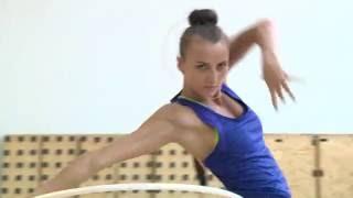 Художественная гимнастика. Анна Ризатдинова, обруч. Открытая тренировка сборной Украины 16/07/2016