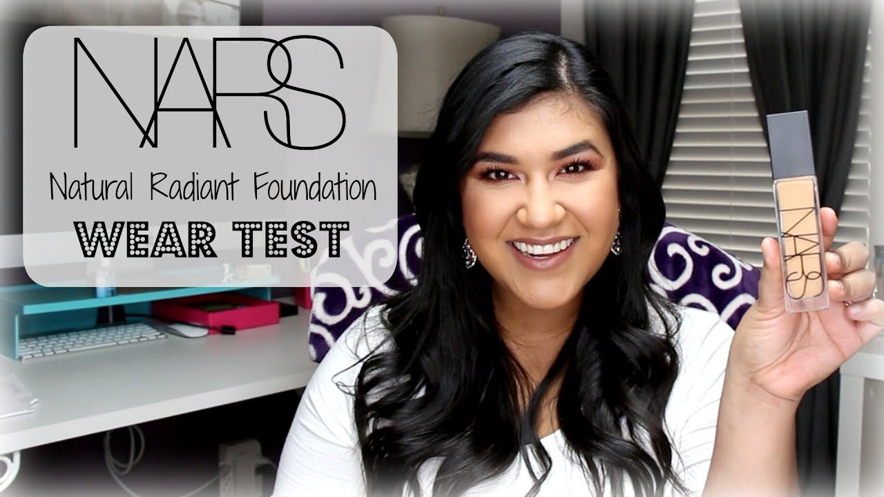 NEW NARS NATURAL RADIANT FOUNDATION | 10 HOUR WEAR TEST
