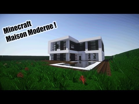 Cin matique maison moderne minecraft project for Minecraft maison design