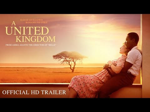 New Official Trailer for A United Kingdom