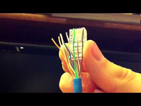 How to Fix/Terminate Ethernet Cables (Connectors)