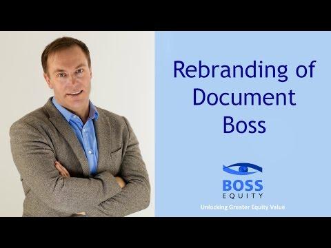 Document Boss Re-brands as Boss Equity