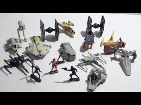 Neue Raumschiffe und Figuren von Star Wars Micro Machines | StarWars Hasbro Rebels & TFA