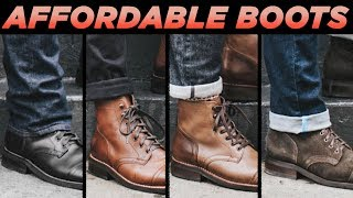 TOP 5 AFFORDABLE MENS BOOTS FOR FALL | Cheap Mens Fashion 2018 | StyleOnDeck